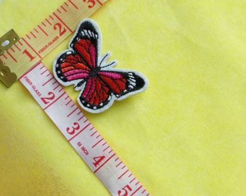 Sew On| iron on |Applique Motif  | Butterfly B 10
